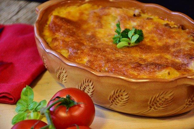 lasagne avec tomates